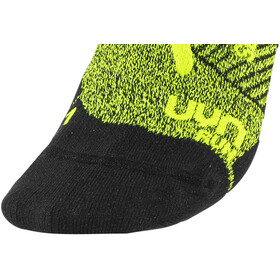 UYN Run Super Fast Strømper Herrer, yellow fluo melange/black